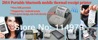 2014 Newest mobile 58mm bluetooth ticket printer  For Android/iOS mobile bluetooth printer --MP300ios