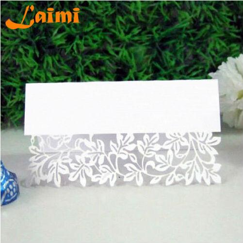 10X Pierced Laser Cut Flower Vine Paper Crafts Elegant Wedding Invitation Card Decorations Free Shipping(China (Mainland))