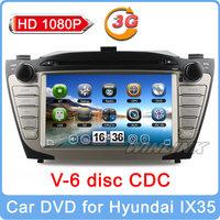 HD 1080P DVR Control Car DVD GPS PC Headunit for Hyundai Tucson IX35 2010-2013 navigation multimedia stereo radio free Canbus