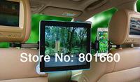 360 Degree Rotating Car Seat Headrest Holder Mount for iPad Mini Tablet 9-11''+ Mobile Phone Holder