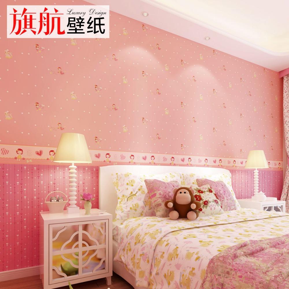 Online kopen wholesale behang voor meisjes kamer uit china behang voor meisjes kamer groothandel - Wallpapers voor kamer ...