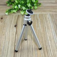 2014 New Mini Tripod Stand Holder Aluminum Metal Stand Mount For Digital Camera Webcam Mini Tripod for GoPro Hero3+/3/2/1