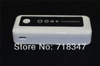 bateria externa 5600 mAh External Backup Battery Charger Portable Mobile Power Bank For iphone 5 4S / sansung Galaxy S4 / p