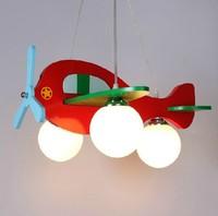 Wholesale modern brief child real pendant light cartoon pendant light bedroom lamp light aircraft lamps lighting free shipping