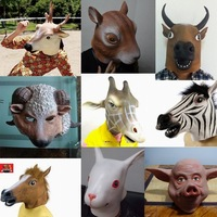 New 2014 Multiple Horse animal mask masquerade party mask halloween  carnival latex mask realistic silicone masks