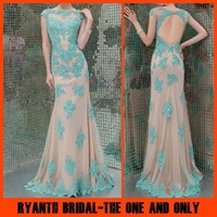 RBP 390  Fashion Berta  Zuhair Murad Evening Dresses 2014 New Arrival Long Mermaid Tarik Ediz Robe De Soiree