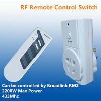 AC220V Home Automation Smart Home System Wireless RF Remote Control Switch Can Be Wall Wear and Controlled by Broadlink RM2