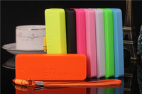 NEW 18650 perfume power bank 5600mah bateria externa portable charger External Backup Battery For iPhone 6 5S 4S Retail Box
