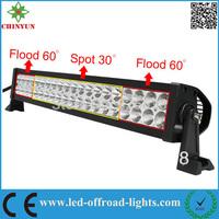 120W Epistar 21.5INCH dodge light bar 7200LM SPOT/FLOOD BEAM led lights for truck off road light kit
