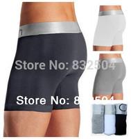 2014 Hot Sale!!! Men's colour Black White Grey (3pcs/lot)Sexy Mens Cuecas Boxer modal Shorts Men's Underwear Boxers for Men +C