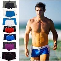 Fashion Sexy Men's Swimming trunks Swimwear 9 colors S-XL Beach Pants High Quality
