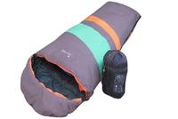 free shipping!envelope style cotton outdoor hiking camping sleeping bag travel thermal sleeping bag