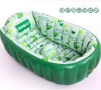 Infant inflatable bathtub ploughboys newborn baby bathtub