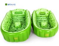 Infant inflatable bathtub child bath basin big Small