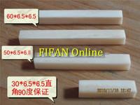 60 * 6.5 * 6.5 mm / Bovine bone pieces / engraving materials / carved pieces / inlay bone slices / hanging bone slices /