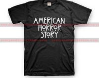American horror story sitcoms 100% cotton t-shirt short-sleeve T-shirt