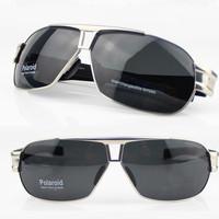 New Top!! Men's Sunglasses Driving Fishing Polarized Glasses -Silk Frame Grey CR-39  Lens ANTI-UV 400