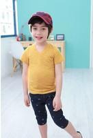 New style boys sports suit/2-piece set: t-shirt+pants/2014 summer boys clothing set