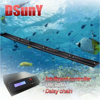 "240cm/96""/8ft programmable timer led aquarium lights, saltwater fish sunrise/sunset/lunar/moon/noon/4 season"