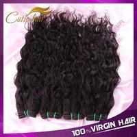 Ms Lula Hair Products Peruvian Virgin Hair 4PCS/LOT Unprocessed Virgin Peruvian Human Hair Weaves Wet and Wavy Hair Bundles
