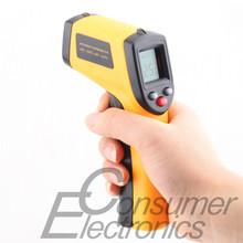 1 Pcs Nice Non-Contact LCD IR Laser Infrared Digital Temperature Thermometer Gun Newest(China (Mainland))