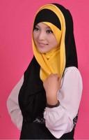 (free shipping)muslim hijab,lady hijab ,100% cotton ,10colors 1pcs 1 color