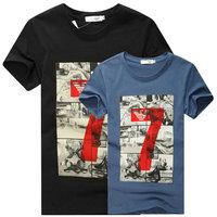 Summer hot short sleeve man t-shirts casual slim men t shirt