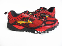2013 Genuine BROOKS Cascadia 6 Stable Top Men Running shoes Off-road shoes Jogging shoes Series