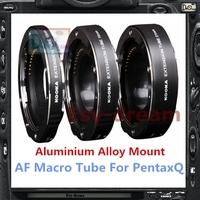 Aluminium Alloy Mount Electronic AF Auto Focus Macro Extension Ring Tube For PentaxQ Pentax Q Q7 Q10 Q-S1 PR031