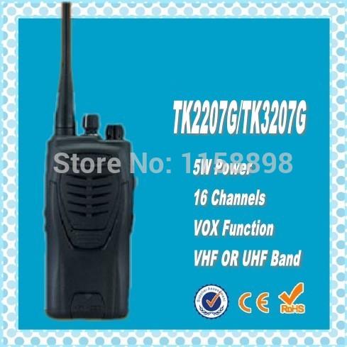 DHL freeshipping+2 sets/pair TK3207G 5 Watt UHF 400-470MHz Professional Transceiver walkie talkie 10km 2 ways radio TK-3207G(China (Mainland))