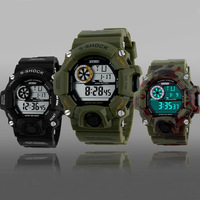 Skmei Brand Young Men Sports Watch Fashion Casual Outdoor Wristwatches Digital LED Military 50M Waterproof Watches New 2015