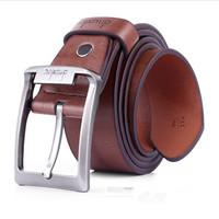 Big Discount Men and Women Cowskin Leather Pin Buckle Belt Brand Casual Belts for Men pk199