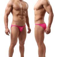 brave person men swimming wear sports trunks bikini briefs sexy undies nylon solid color calcinha S M L