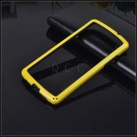 Hot Retail 2pcs hybrid soft rubber protective frame tpu Bumper phone bags cases For LG Google Nexus 5 N5 E980 D820 D821 covers