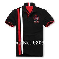 free 2014  big  size fat men's fashion  famous brand TM short-sleeved t-shirts 2XL-3XL-4XL-5XL