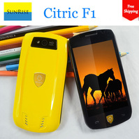 2014 Unlisted Pre-sale Citric F1 4.0 inch MTK6572 Dual core 1.3Ghz Android 4.2.1 Smart phone RAM 512MB ROM 4GB 3G WCDMA+GSM GPS