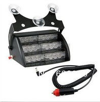 Free ship 18 LED work light car, emergency warning lights, windshield dashboard flashing warning