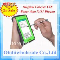 Promotional Online Update Original CareCar C68 Scanner Care Car C68 Retail DIY Professional Auto Diagnostic Tool as X431 Diagun