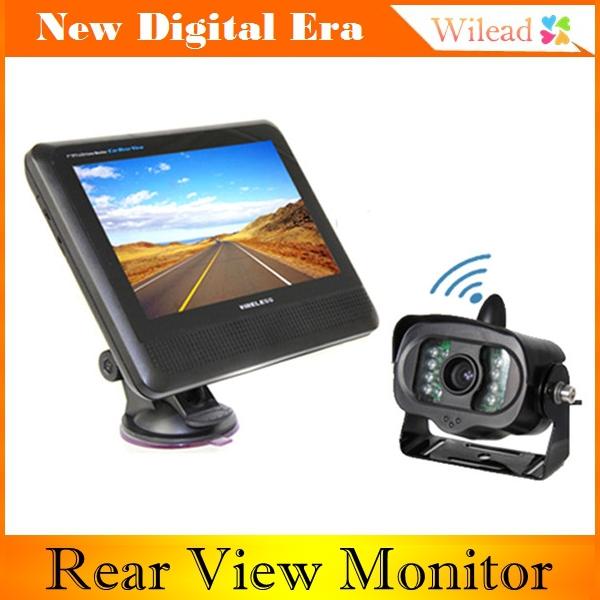"7"" TFT LCD Color RearView Monitor Wireless Car Rear View Camera Night Vision AE0008(China (Mainland))"