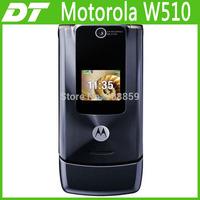 Retail 1pcs/lot Good Quality Cell Flip mobile phone Unlocked original W510 free shipping Via Post