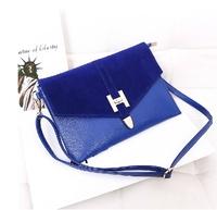 2014 hot fashion vintage envelope bag shoulder bag women bag women handbag women messenger bags women leather handbags