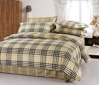 brand print 100% cotton king queen bedlinen bedclothes quilt cover set bedding set