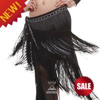 2014 New fashion Triangle Tassel Belly Dance Belt 7 Colors TP 072