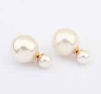 Cute Little Ball  Stud Earrings Fashion Candy Coated Earrings cxt904876