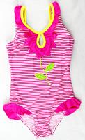 2014 New Design Girls Swimwear Children's Bathing Suits One Pieces Swimsuit Kids Size 3/4,5/6,7/8,11/12