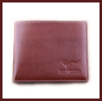 New 2014  men wallets  The second layer of leather wallets Special two-color change purse  free shipping
