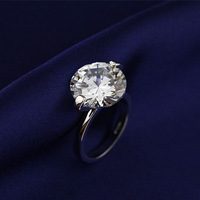 23155-new Austrian Crystal  wedding ring for women silver Plated Made with Genuine   Wholesale price