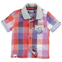 2014 new boys shirts plaid short sleeve boys tops children clothing boys clothing