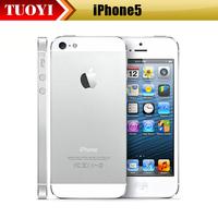 Original iPhone 5 iOS 6 Dual-core 1G RAM 16G ROM 4.0 inches 8MP Camera WIFI GPS 4G Cell Phone Refurbished