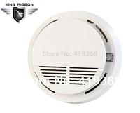 Free shipping 433 MHZ home security alarm system GSM Smoke Detector Alarm Fire Sensor (4pcs SM-100)